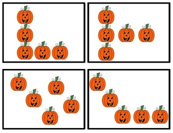 Number Chats for Halloween - Talking about Numbers from 3 to 10