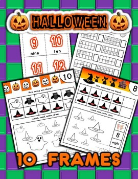 Halloween Number Counting Activities