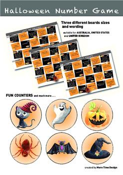 Halloween Number Game