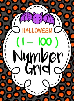 Halloween Number Grid