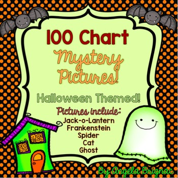 Halloween Number Grid MYSTERY PICTURES {100 Chart, Number Sense Practice}