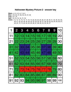 Halloween Number Grids