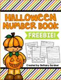 Halloween Number Handwriting {FREEBIE!}