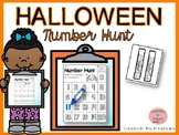 Halloween Number Hunt