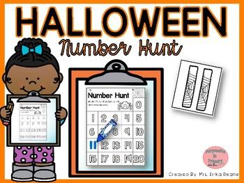 Halloween Number Hunt