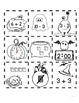 Halloween Number Line - Math Concepts Review
