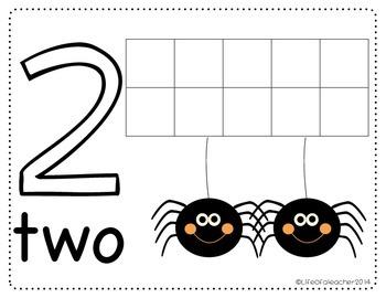 Halloween Number Mat #1-10
