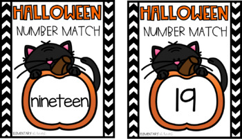 Halloween Number Match