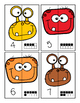 Halloween Number Matching Puzzels