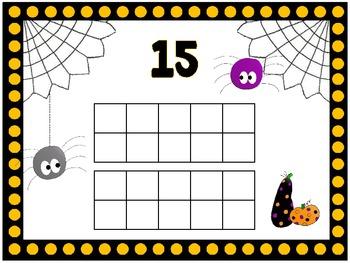 Halloween Number Mats
