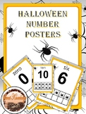 Halloween Number Posters (spiders)