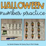 Halloween Number Practice 0-10