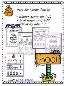 Halloween Number Practice