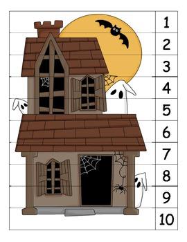 Halloween Number Puzzle 3