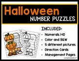 Halloween Number Puzzle