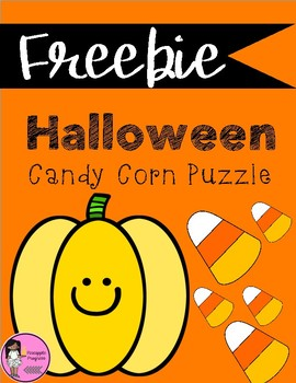 Halloween Number Puzzle {FREEBIE}