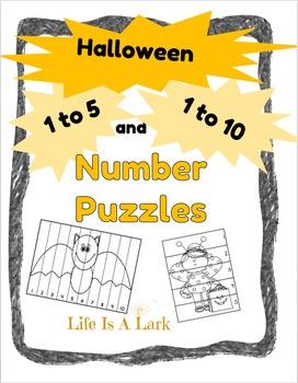 Number Puzzles ... HALLOWEEN