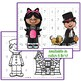 Halloween Number sequencing Puzzles