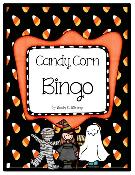 Halloween Number Recognition Bingo Game