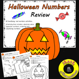 Halloween Number Review-Classifying rational numbers, oppo