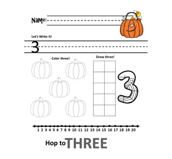 Halloween Number Sense Fun