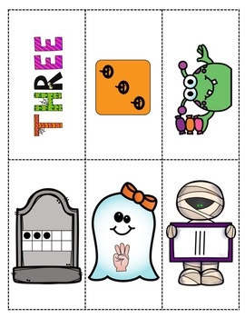 Halloween Number Sense Haunted Houses for PreK, K, & Homeschool