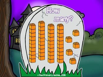 Halloween Number Sense MOVE IT - The Bundle