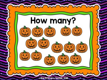 Halloween Number Sense MOVE IT - The Bundle