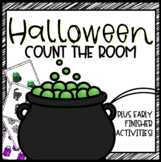 Halloween Number Sense Math Centers