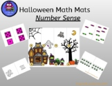 Halloween Number Sense Math Mat Activity: Numbers 1-10