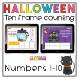 Halloween Number Sense Boom ™ cards