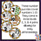 Halloween Number Sense puzzles for numbers 1-10