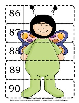 Halloween Activity - Number Sequencing {1 to 100} Puzzle Fun