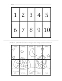 Halloween Number Words 1-10