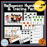 Halloween Number and Tracing Pack