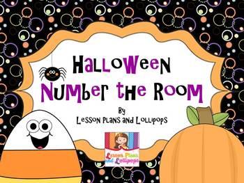 Halloween Number the Room