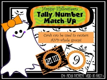Halloween Number/Tally Match-Up