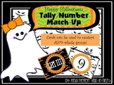 Halloween Number/Tally Match-Up