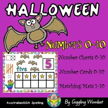 Halloween Numbers 0-10