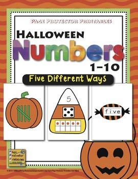 Halloween Numbers 1-10