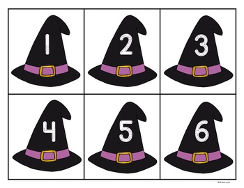 Halloween Numbers 1-10: I can show numbers in Spooky ways.