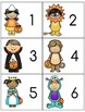 Halloween Numbers 1 - 10: Matching Cards
