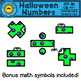 Halloween Numbers Clip Art