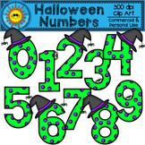 Halloween Numbers Clip Art