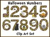 Halloween Numbers Clip Art Set Super Cute!