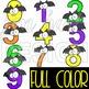 Halloween Numbers Clipart -NumberBATS