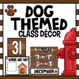 Dog Themed Classroom Decor