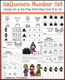 Halloween Numbers Set: 1 to 10