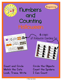 Halloween Number sense and Numeration Numbers and Counting
