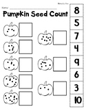 Halloween Numbers to 10 Counting Printables